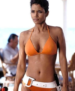 Halle Berry as Jinx in Bond flick