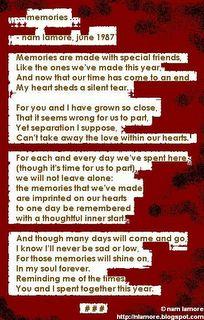 'memories' by nam lamore