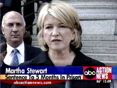 Martha Stewart found guilty.