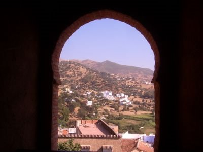 Kasbah look-out, Chaouen, Morocco