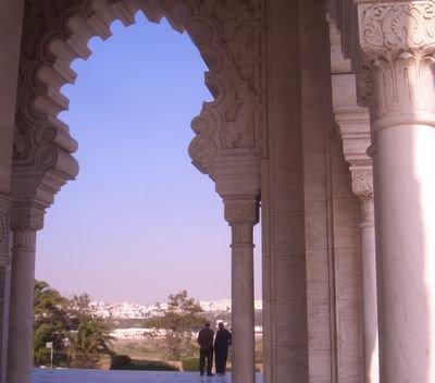 Tour Hassan in Rabat, Morocco