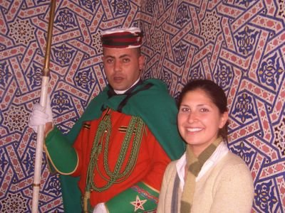 Tour Hassan in, Morocco