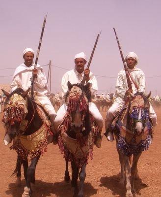Fantasia Boujad, Morocco