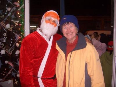 Santa & EH, 2006, Visit