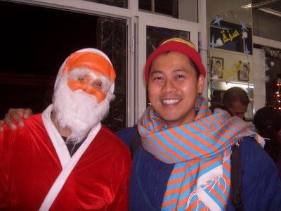 Santa & NL, 2006, Visit