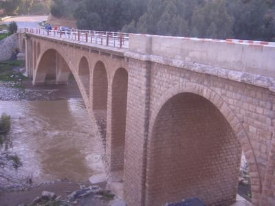 Bridge at Oued Beht, between Khemisset and Meknes
