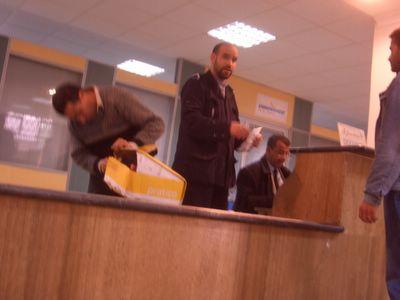 Postal inspectors