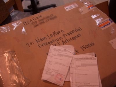 My postal package, finally