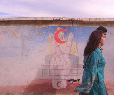 Murals in Meknes, Morocco