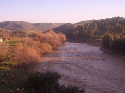 River between Khemisset and Meknes, Morocco