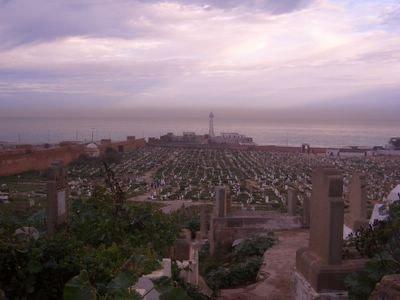 Cemetery in Rabat, Morocco
