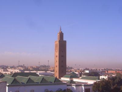 Great Masque Es Sunna in Rabat, Morocco