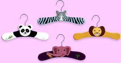 Wood Animal Hangers
