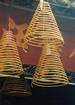 Incense coils