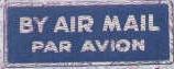 By Air Mail - Par Avion