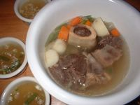 Slow-cooked bulalo is a classic among many families.