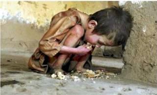 barn uten mat