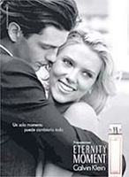 Imagen de la campaña publicitaria de Scarlett Johansson para Calvin Klein.