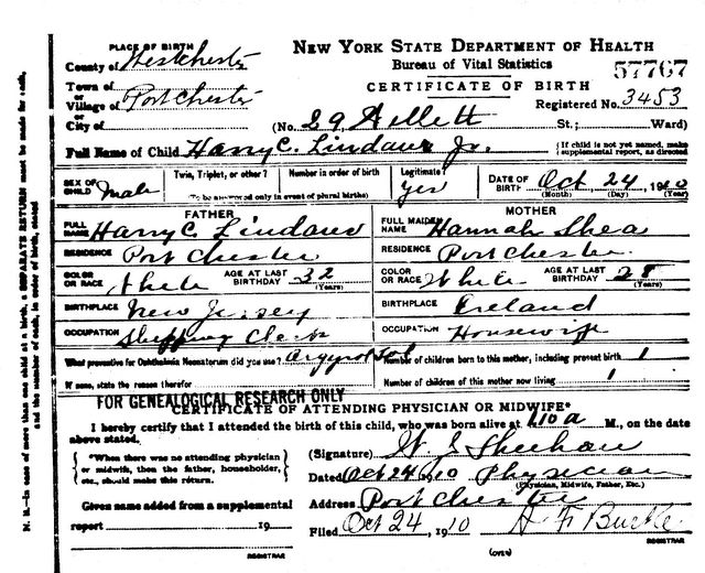 Richard Arthur Norton (1958- ) of New Jersey: Harry Chauncey ...