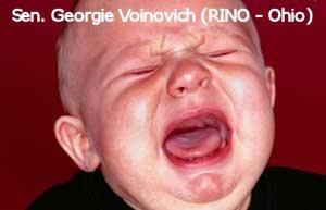 Crybaby George Voinovich