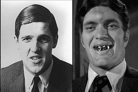 John Kerry college photo