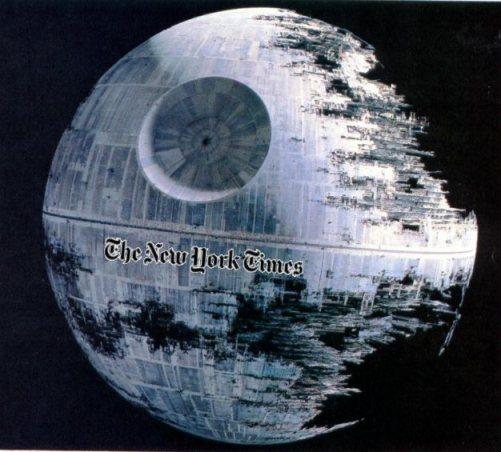 NY Times Death Star
