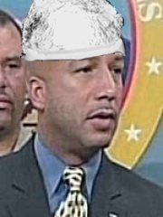 Mayor Ray Nagin breaks out his tinfoil beanie!