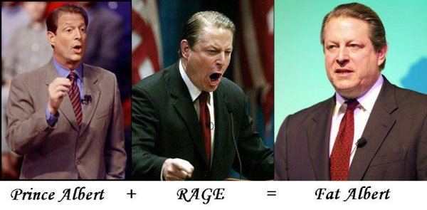 Al Gore Morph