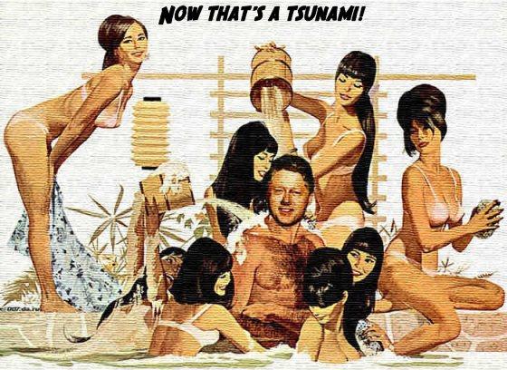 Bill Clinton does the tsunami