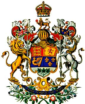 The Royal Arms of Canada, 1921