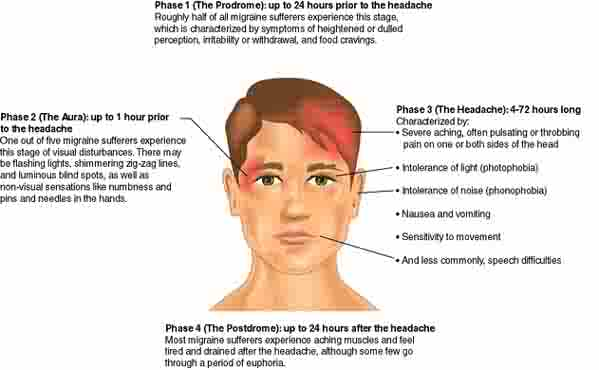 essay on migraine Free essay: all of us suffer from an occasional headache in fact, 20 million  americans see their doctors each year because of headaches headaches are  also.