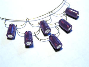 Capacitor Necklace