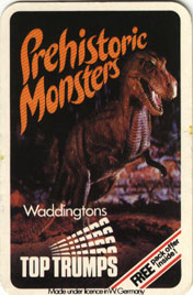 Prehistoric Top Trumps