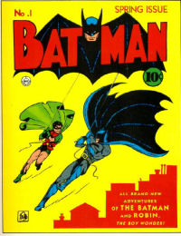 1st Batman Cover