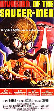 Invasion-of-saucer-men movie poster