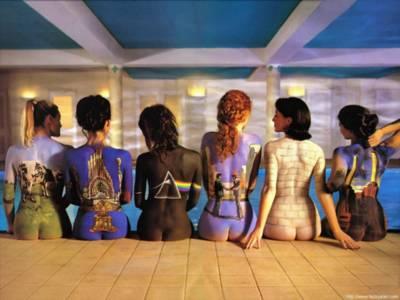 portadas de LPs de Pink Floyd