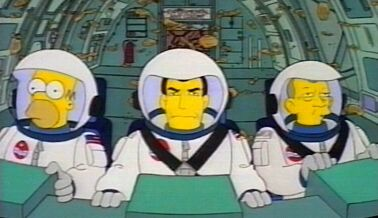 the simpsons astronaut - photo #9