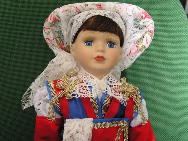 Куклы в Костюмах Народов Мира №28 Италия - Пьемонт