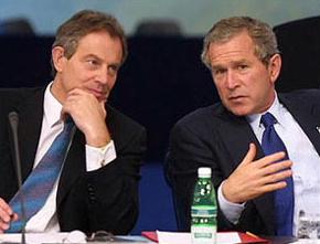 Bush and blair gay bar song