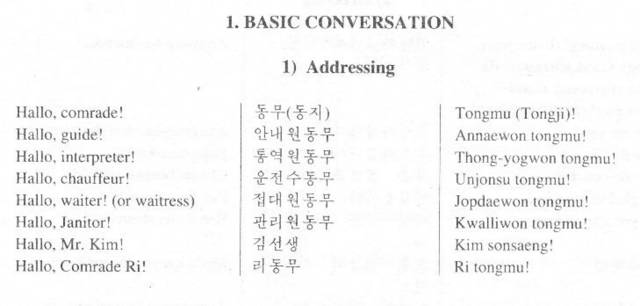 kimchi me north korean dialect these are some greetings from a korean phrase book out of north korea m4hsunfo