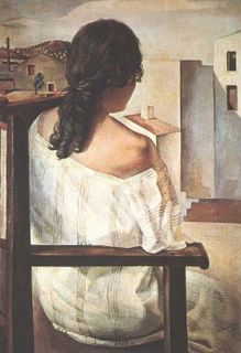 Mujer de espaldas (Dalí)