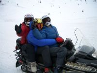 Chatter Creek Sledders Dave, Char and Nikki