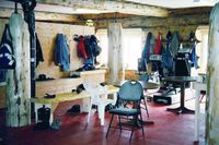 Ski Lodge Drying Room