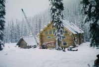 First Snowfall for Vertebrae Lodge