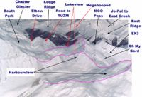 South Side Ski Terrain at Chatter Creek Cat Skiing