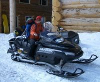Present and Future Sledders at Chatter Creek Cat Skiing