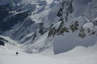 Rocky Mountain Alpine Terrain for Cat Skiing