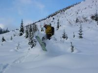 Matt in the Home Run on Lodge Ridge at Chatter Creek