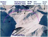 The SX3 cat ski terrain at Chatter Creek Cat Skiing