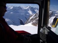 Mountain Scenery from a Chatter Creek Snowcat